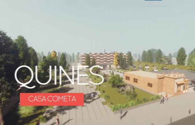 Quines tendrá un centro cultural, social y deportivo