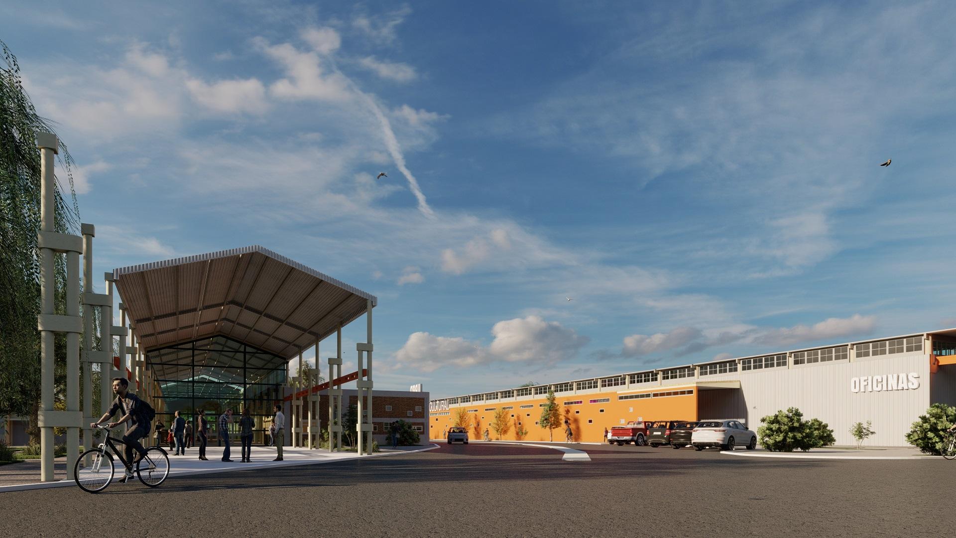 La ex fábrica SCAC se convertirá en un gran centro integrador, deportivo, cultural y administrativo
